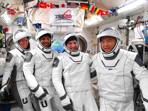 How to watch Crew-1 astronauts reveal details about their Crew Dragon ride