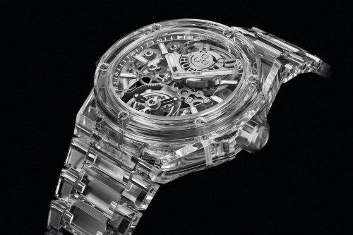 The amazing story behind the making of Hublot's $422,000 all-sapphire watch