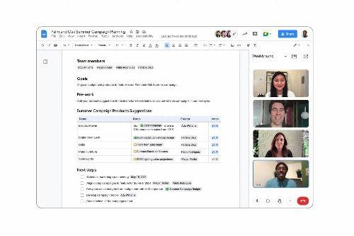 Smart Canvas makes Google Docs, Slides, and Sheets way more collaborative