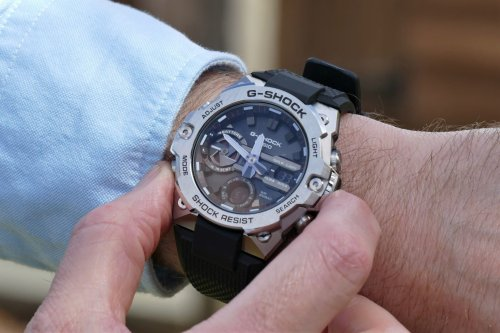 Slim new G Steel is the ideal introduction to the G-Shock's unbreakable watches