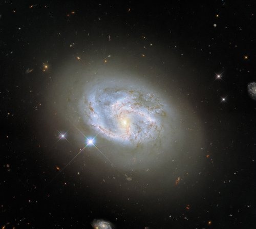 This beautiful galaxy captured by Hubble defies classification