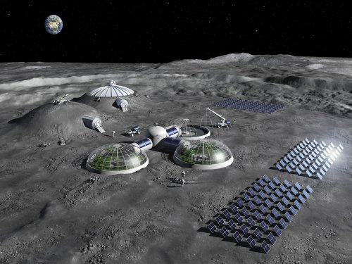 Researchers create lunar life support system by baking moon dust