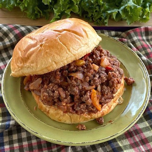 Gourmet Sloppy Joes (without ketchup!)