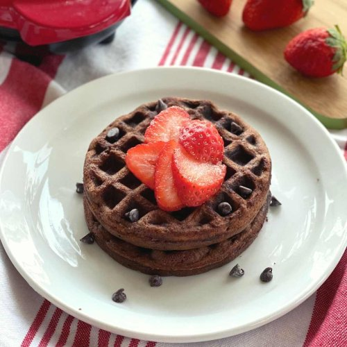 Chocolate Chaffle Recipe with Ricotta