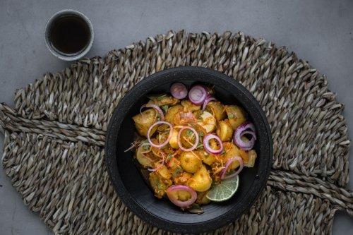 Kartoffelsalat mit Kimchi - Dinner um Acht