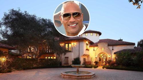 The Rock Pays $27.8 Million for Paul Reiser's Beverly Park Mansion