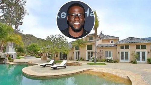 Kevin Hart Buys the Calabasas Mansion Next Door
