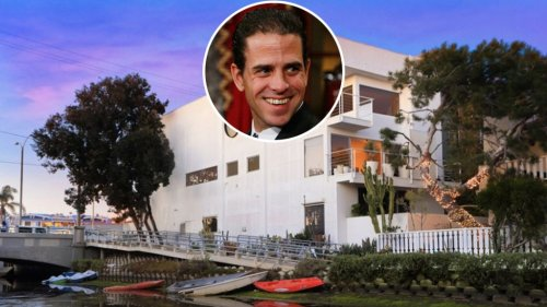 Hunter Biden Holes Up in Snazzy Rental Along L.A.'s Venice Canals