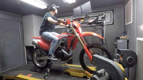 2021 Honda CRF450X Dyno Test
