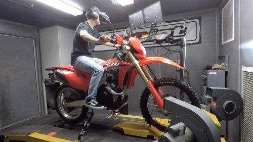 2021 Honda CRF450RL Dyno Test
