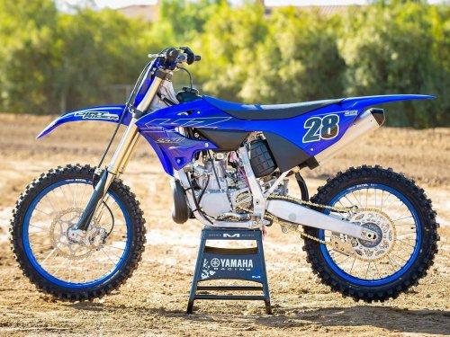 Riding the 2022 Yamaha YZ250