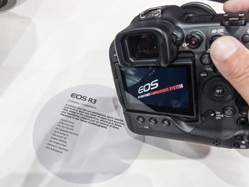First hands-on with the Canon EOS R3 - DIY Photography
