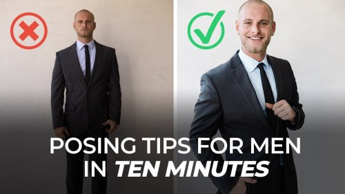 Turn your male model from Forrest Gump to Jason Statham with these ten posing tips - DIY Photography