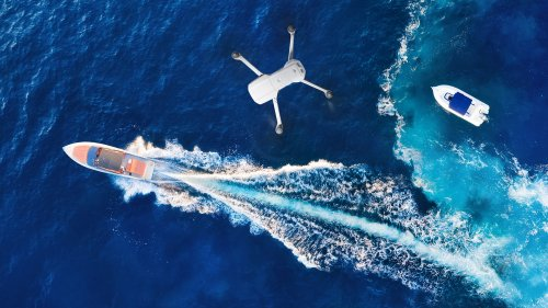 How high am I? A tip for seagoing drone pilots - DIY Photography