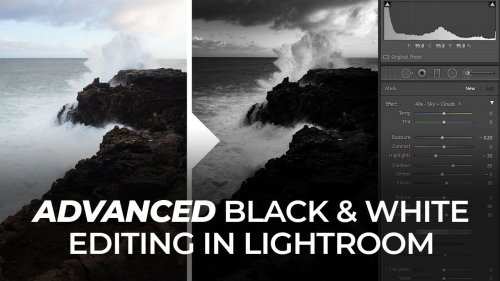 A simple seven-step process to create dramatic black and white images in Lightroom - DIY Photography