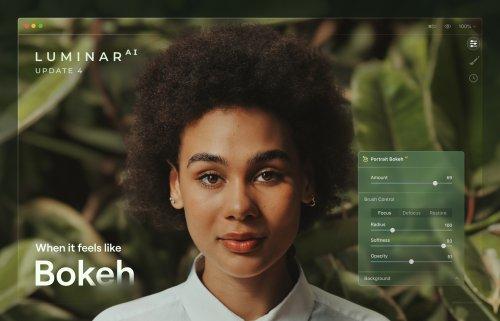 Luminar AI update 4 brings artificial bokeh and more editing control - DIY Photography