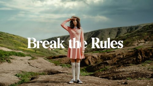 How to break the rules like a pro and not like a beginner - DIY Photography