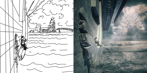 Five tips for turning your sketches into creative and unique digital art - DIY Photography