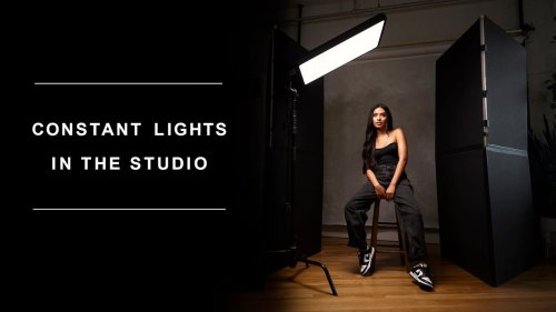 Shooting portraits in the studio with continuous lights isn't as intimidating as you think - DIY Photography