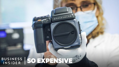 Why Hasselblad cameras are so expensive - DIY Photography