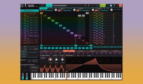 f.'em: Neuer leistungsstarker FM-Synthesizer von Tracktion veröffentlicht - DJ LAB