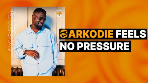 Sarkodie Feels No Pressure
