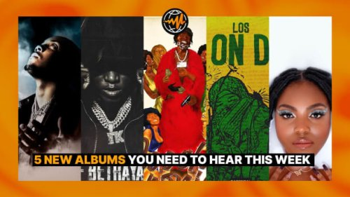 5 New Albums You Need to Hear This Week on Audiomack