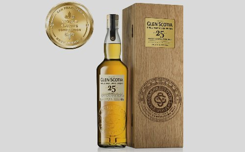 Glen Scotia 25-Year-Old Malt Scotch ranked the best whisky in 2021