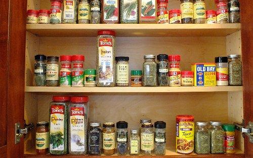 Minimalist kitchen organizers for clutter-free space