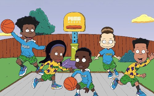 Nickelodeon x PUMA Hoops Rugrats Sneaker Collection announced