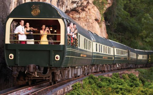Most luxurious train rides in the world on spectacular routes