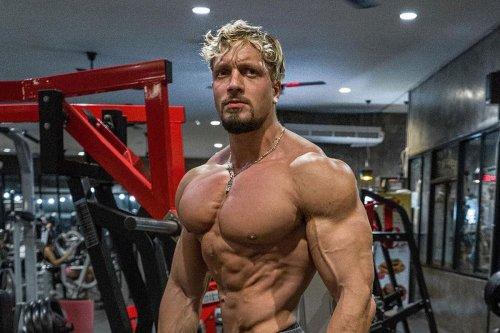 Mad German Bodybuilder Reveals His Special Techniques For Mountainous Shoulders