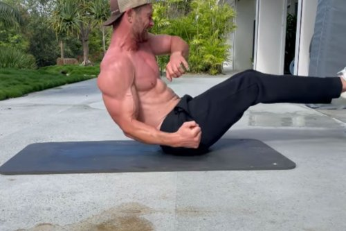 Chris Hemsworth's Bodyweight 'Extraction' Workout Will Have You Begging For Mercy