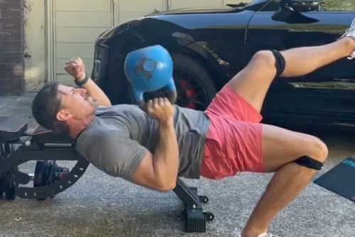 'Impossible' Chest Press Exercise Challenge Taking Fitness World By Storm