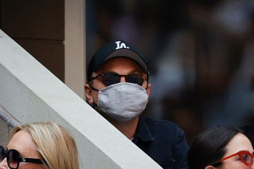 Leonardo DiCaprio's US Open Face Mask Is A Reminder The Man Gives Zero F*cks