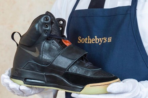Kanye West's Million-Dollar Sneaker Auction A Turning Point For Modern Luxury