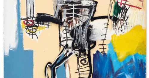 Jean-Michel Basquiat's Warrior becomes most expensive western work of art sold in Asia at $41.7m