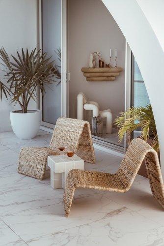 Miami Vice Meets Mid-Century Italian in a Coastal-Cool Florida Home