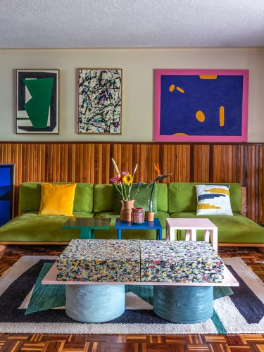 This Duo Designed Almost Every Piece of Furniture in Their Nairobi Home