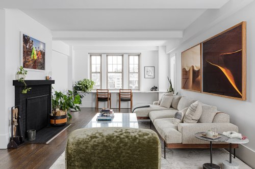 The Right White Paint Took This Apartment From '80s Pink to Calm and Collected