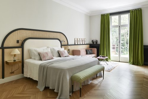 This Headboard Hack Was Practically Made for Small Bedrooms