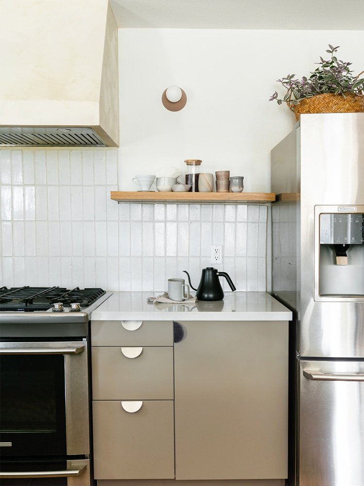 Successful Kitchen Cabinet Refacing Involves Hacking Your Way to No Gaps