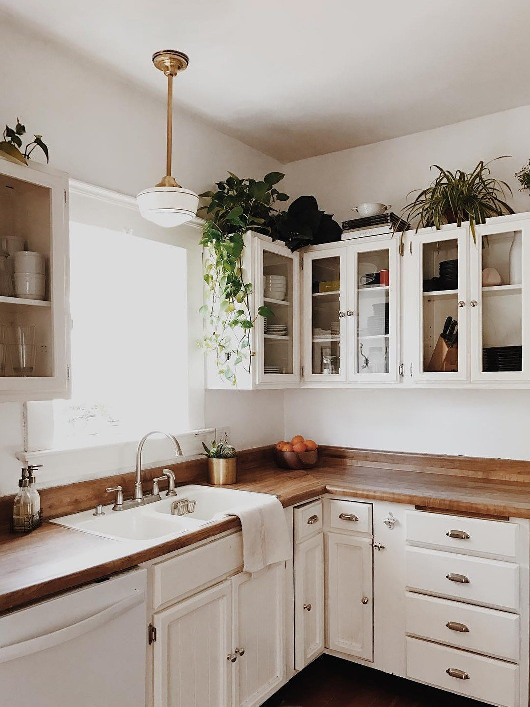 That Empty Space Above Your Cabinets Is Actually Prime Real Estate