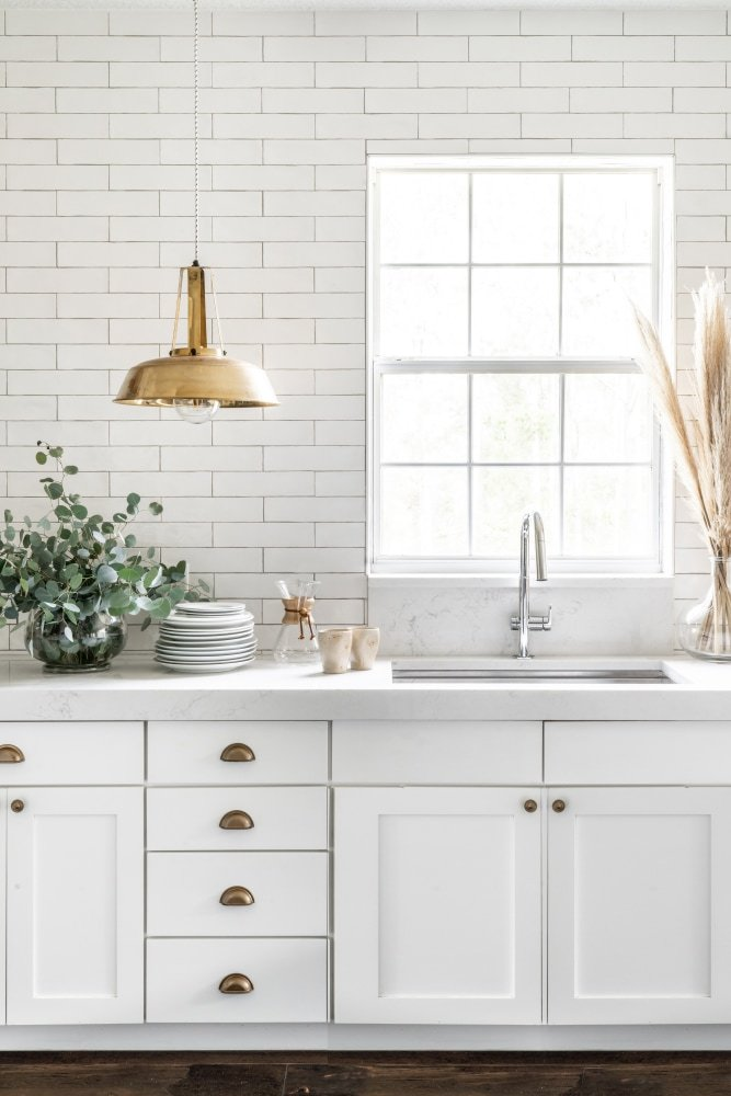 This Kitchen's Textured Tiles Are Just the Start of Its Euro-Chic Refresh