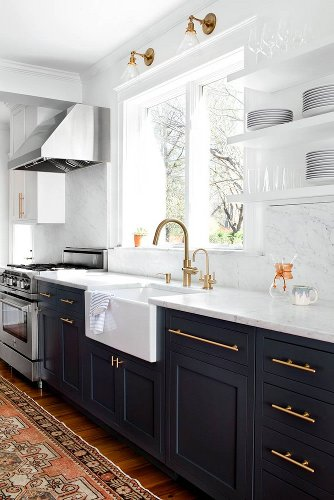 The 7 Best Black Paint Colors for Kitchen Cabinets (and Beyond)