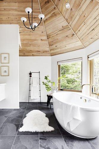 7 Grey Bathroom Floor Tile Ideas That Are Anything But Blah