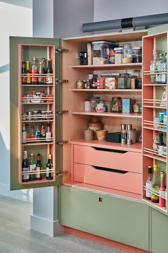 12 Cabinet Spice Rack Ideas That Give You Back Precious Countertop Space