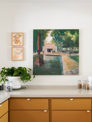 Awkward Nooks and Open Layouts Were No Match for This Designer's Paint Tricks