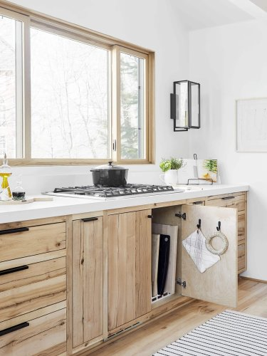 This $20 Kitchen Cabinet Organizer Maximizes Every Inch of a Small Space