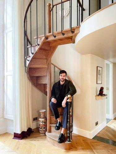 This Designer Imagined His 500 Square Foot Paris Apartment Movie Set